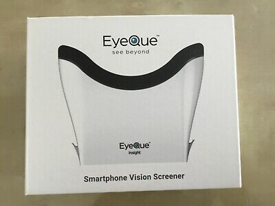EYEQUE INSIGHT SMART VISION SCREENER use smartphone includes 1 year subscription