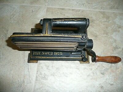Antique 1800's  Eagle Cast Iron Crimper Fluter