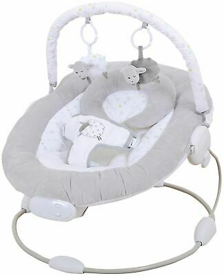 East Coast SILVERCLOUD COUNTING SHEEP BABY BOUNCER Baby Nursery Activity - NEW
