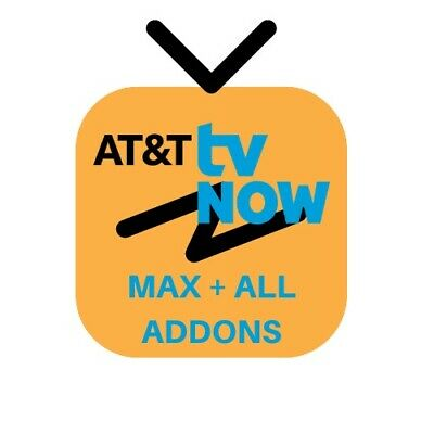 AT&T TV NOW | All Addons | Lifetime Warranty