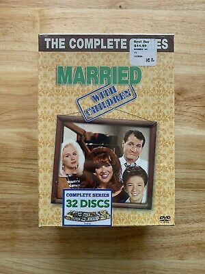 Married... With Children: The Complete Series (DVD, 2011, 32-Disc) New  Sealed
