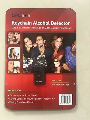 BACtrack Keychain Alcohol Detector Breathalyzer