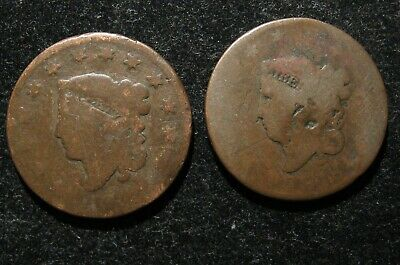 1830 and 1816 Large Cents bv7