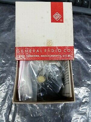 General Radio (GR) 976-S9 140K Ohm, Potentiometer New in Box w/ Manual & Accy's