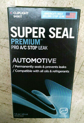 Cliplight 946Kit Super Seal Premium Automotive A/C Stop Leak
