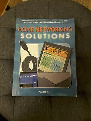 Home Networking Solutions By Paul Heltzel Soft Cover Book