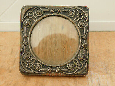 Unusual Vintage Small Silver Celtic Knot Design Photo Photograph Picture Frame