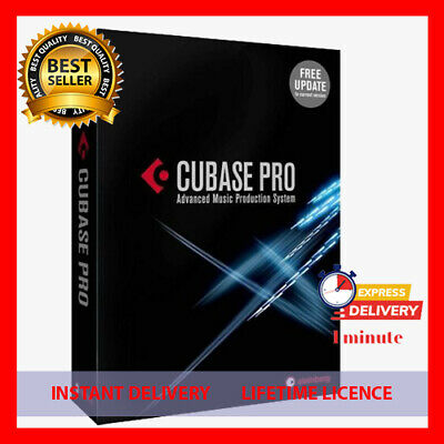 Steinberg Cubase Pro 10.5  Nuendo 10🔥 Lifetime License🔥 Windows✅ Fast Delivery
