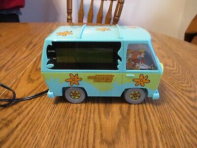 Vintage 1999 Scooby-Doo The Mystery Machine Digital Alarm Clock Nightlight