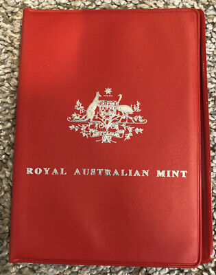 ROYAL AUSTRALIAN MINT 1974 Mint Set 6 Coin Set In Red Envelope 1 Cent To 50 Cent