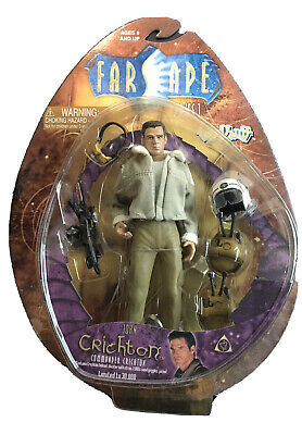 """Farscape Series 1 """"John Critchon"""" Limited Edition Collectible Yr. 2000 FS007 MOC"""