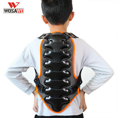 Kids Back Protective Safety Bike Harness Support Turtle Armor Spine Protector