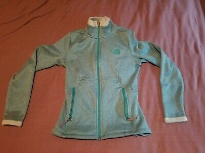 Women's THE NORTH FACE Osito Full Zip Fleece Jacket Size XS - Teal