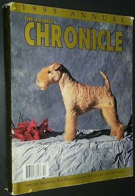 The Canine Chronicle Magazine Lakeland Terrier Cover 1995 Annual