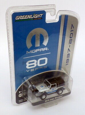 Mopar 12 300 Black With Trading Card 1:64 Scale Greenlight 13140