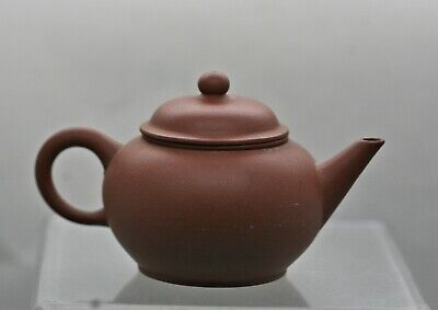 Vintage Chinese Yixing Small Functional Teapot Export Ware c1960s