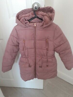 Girls Winter Coat Age 7 Good Condition