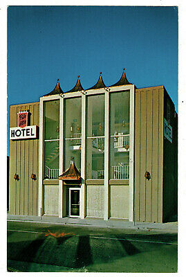1966 Postcard - Palo Alto Hotel - California USA