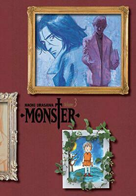 Monster The Perfect Edition 3 by Naoki Urasawa, NEW Book, FREE & FAST Delivery,