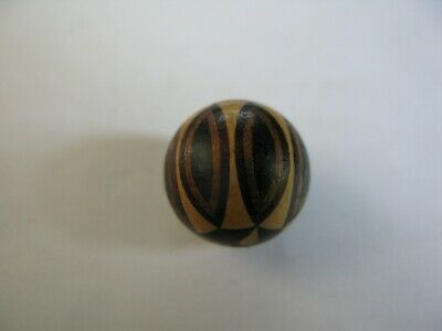 An Extremely Rare Tunbridge Ware Necklace Bead