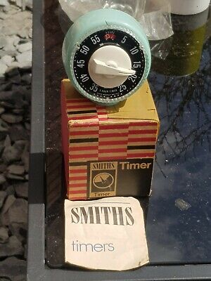 Smiths 1970 timer boxed with original paperwork Guarantee.