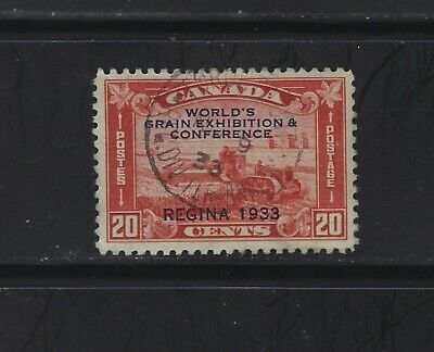 CANADA - #203 - 20c WORLD'S GRAIN EXHIBITION & CONFERENCE USED STAMP TORONTO CDS