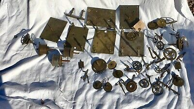 A Very Large Assortment Of Longcase Grandfather Clock Parts