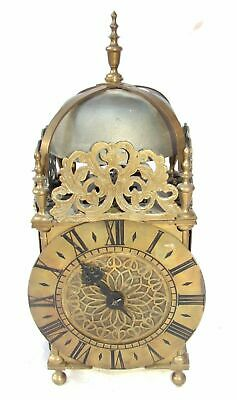 Hook and Spike Lantern Clock in Manner of Antique 16th / 17th Lantern Clock