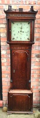 Antique 8 Day Longcase / Grandfather Clock : WARRINGTON