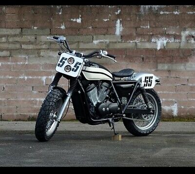 (One-Off)..Honda Vrx 400 V-Twin By La Busca-Motorcycle..tribute To Roger-Reiman