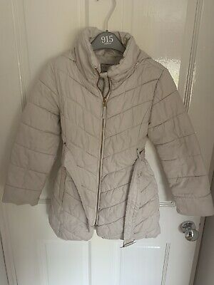 Next Cream Jacket / Coat Age 7-8 Yrs