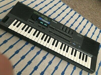 Casio HT700 keyboard synthesizer mini keys with speakers