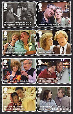 2020 CORONATION STREET Stamps Set of Eight Mint