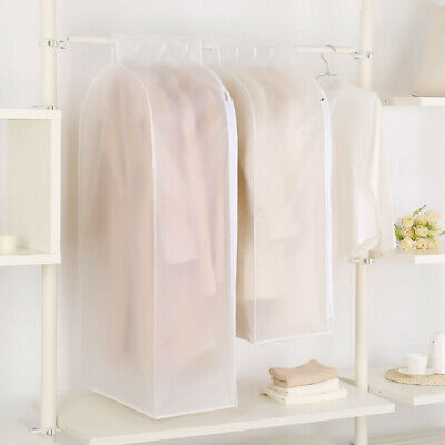 Clothes Garment Dust-proof Cover Suit Coat Hanging Storage Bag Protector Large