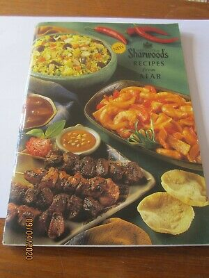 Vintage cookery book SHARWWODS RECIPES FROM AFAR