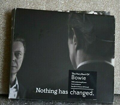 Nothing Has Changed - The Very Best Of David Bowie (3CD, 2014)