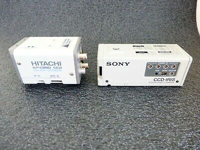 Color Video Medical Cameras Sony And Hitachi