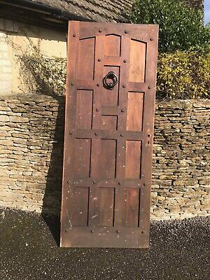 Solid Wooden Door Reclaimed From 18C Listed Building