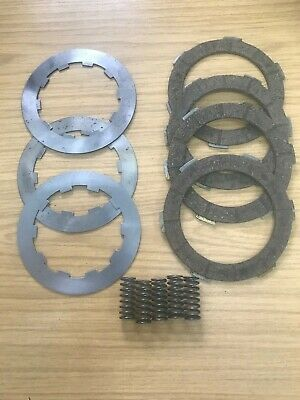 Lambretta  Friction And Steel Clutch Plate Set & Springs  From 1964 Li Engine