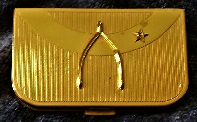 """Vintage Coty Of New York Makeup Compact-""""Wish Upon A Star"""""""