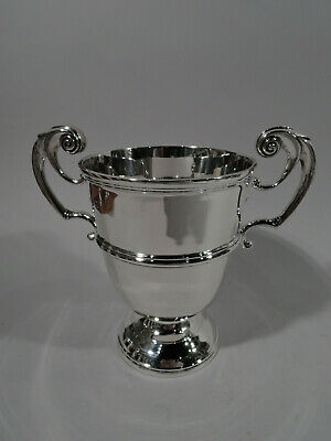 Victorian Trophy Cup - Antique Classical Urn - Irish Sterling Silver - 1897