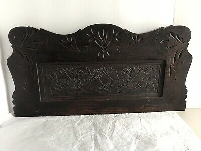 Gorgeous Eastlake Like Victorian Solid Wood Wall Hanging/shelf