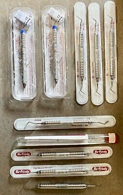 HU FRIEDY Dental Instruments Lot -- FAST FREE SHIPPING