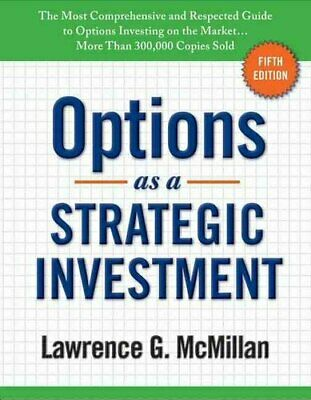 Options as a Strategic Investment Fifth Edition 9780735204652 | Brand New
