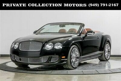 2011 Bentley Continental GT  2011 Bentley Continental GT Speed One Owner