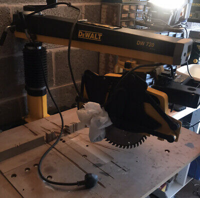 Dewalt DW720 Radial Arm Saw and Stand - Good Working Condition