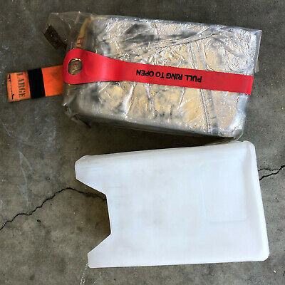 Unopened Surplus Fire Shelter Fire Protection With Case Turnout Gear!