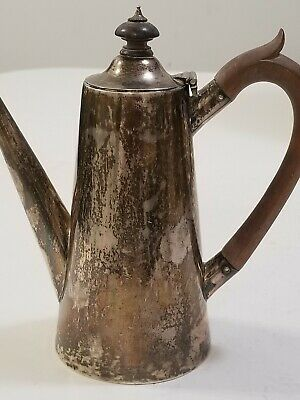 Antique English Victorian Sterling Silver Teapot  1800'S