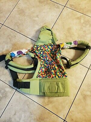 Tula Baby Carrier Hungry Caterpillar with teething pads EUC