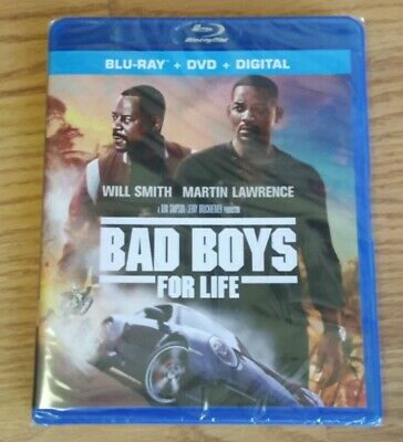 Bad Boys For Life (DVD + Blu-ray Disc + Digital, 2020, 2-Disc Set)